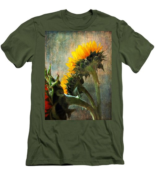Men's T-Shirt (Slim Fit) featuring the photograph Three by John Rivera