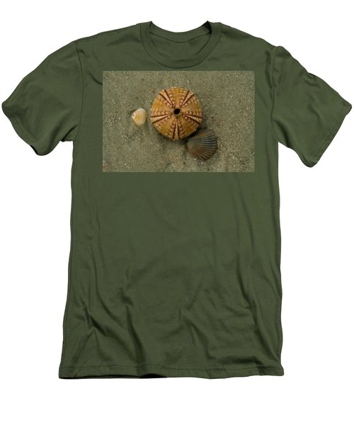 Three Shell Study Men's T-Shirt (Athletic Fit)