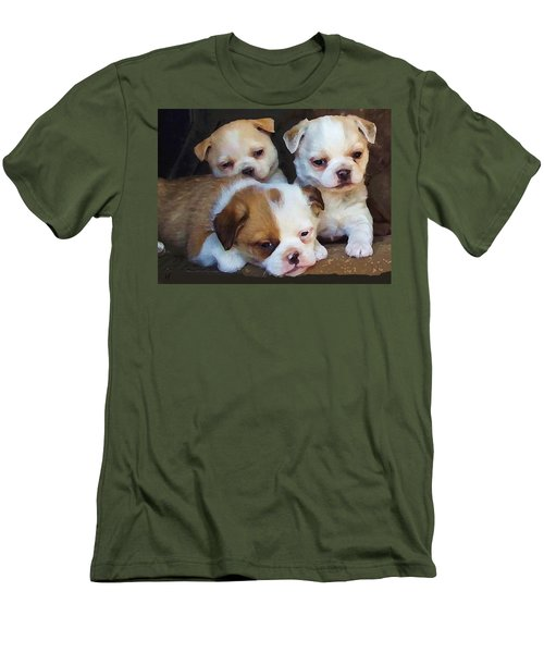 Three Sweeties Men's T-Shirt (Athletic Fit)