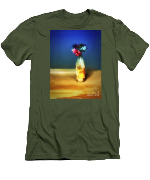 Men's T-Shirt (Slim Fit) featuring the photograph Thrill No. 2  ... by Chuck Caramella