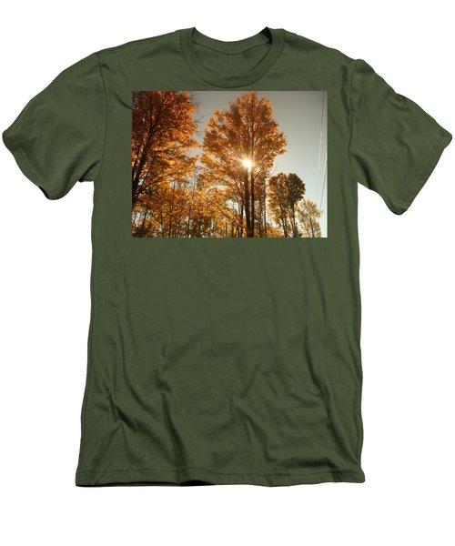 Through Sun Glasses Men's T-Shirt (Athletic Fit)