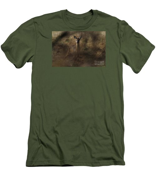 Through The Hedge Row  Men's T-Shirt (Athletic Fit)