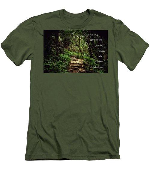 Through The Shadows Men's T-Shirt (Athletic Fit)