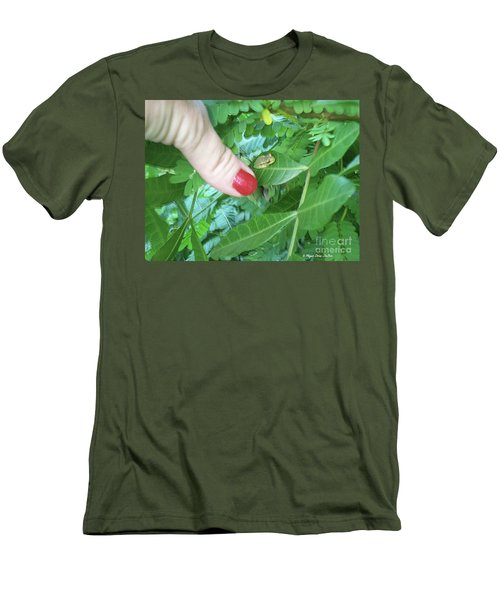 Men's T-Shirt (Athletic Fit) featuring the photograph Thumb Sized by Megan Dirsa-DuBois