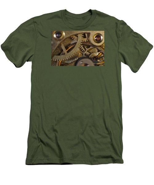 Tic Tac Wheels Men's T-Shirt (Athletic Fit)