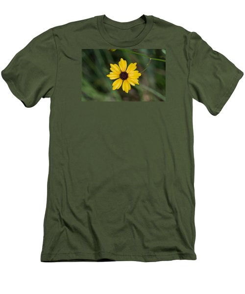 Tickseed Flower Men's T-Shirt (Athletic Fit)
