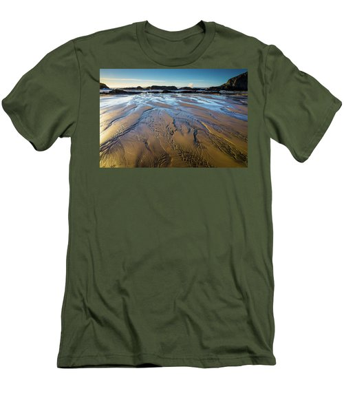 Tidal Patterns Men's T-Shirt (Athletic Fit)