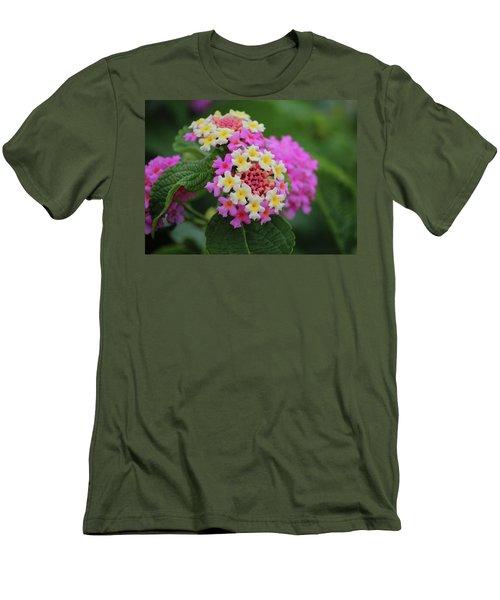 Tiny Bouquets Men's T-Shirt (Slim Fit) by Rowana Ray