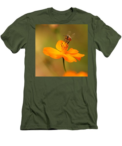 Men's T-Shirt (Slim Fit) featuring the photograph Tiny Dancer by Marion Cullen