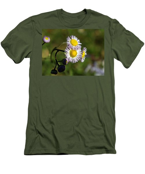 Tiny Little Weed -2- Men's T-Shirt (Athletic Fit)
