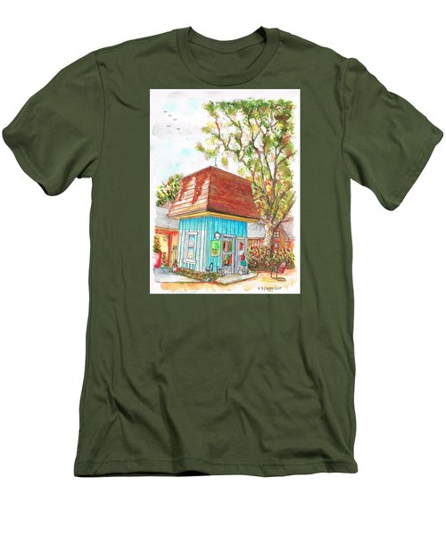 Tiny Tree Boutique In Los Olivos, California Men's T-Shirt (Slim Fit) by Carlos G Groppa