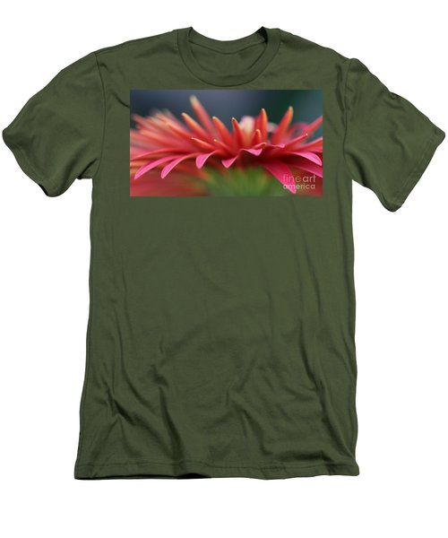 Tip Of The Flower Petals Men's T-Shirt (Slim Fit) by Yumi Johnson