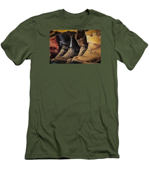 Tired Boots Men's T-Shirt (Athletic Fit)