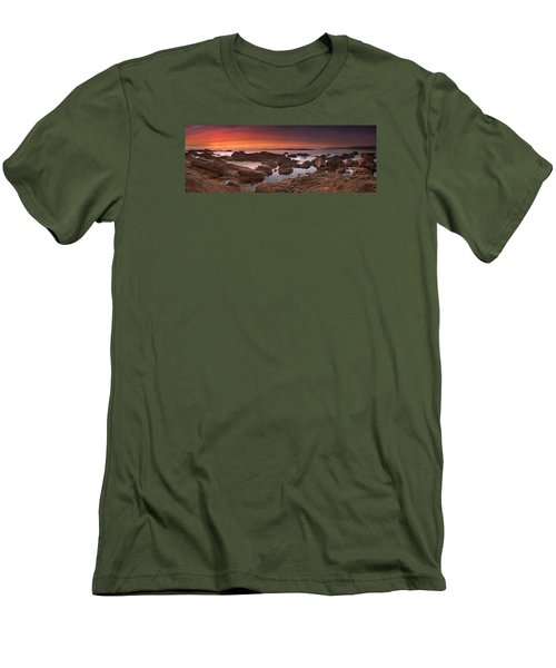 To Sea's Unknown Men's T-Shirt (Slim Fit) by John Chivers