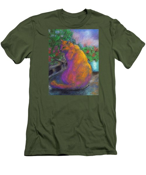 Toby's Garden Path Men's T-Shirt (Athletic Fit)