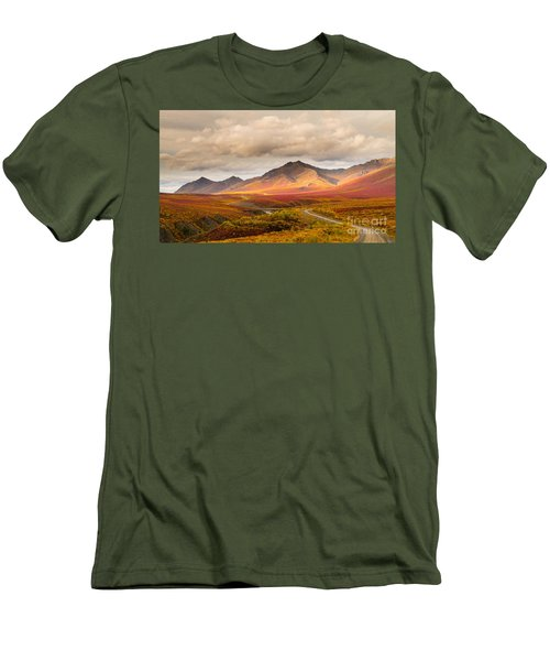 Tombstone Territorial Park Yukon Men's T-Shirt (Athletic Fit)