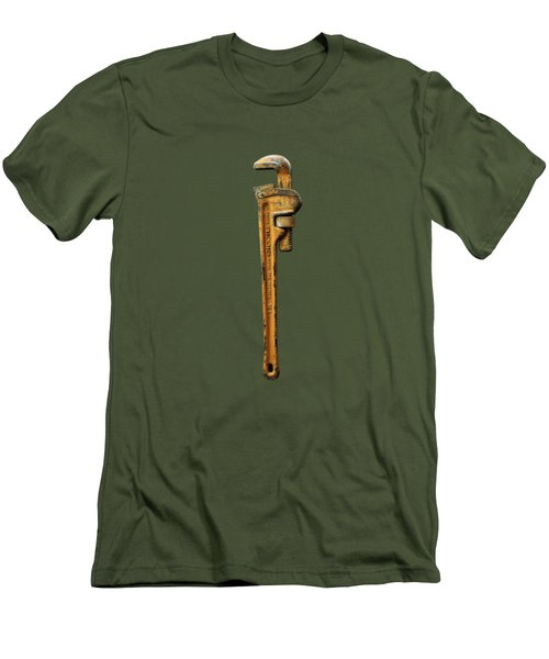 Tools On Wood 60 Men's T-Shirt (Athletic Fit)