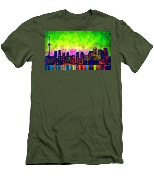 Toronto Skyline 22 - Pa Men's T-Shirt (Athletic Fit)