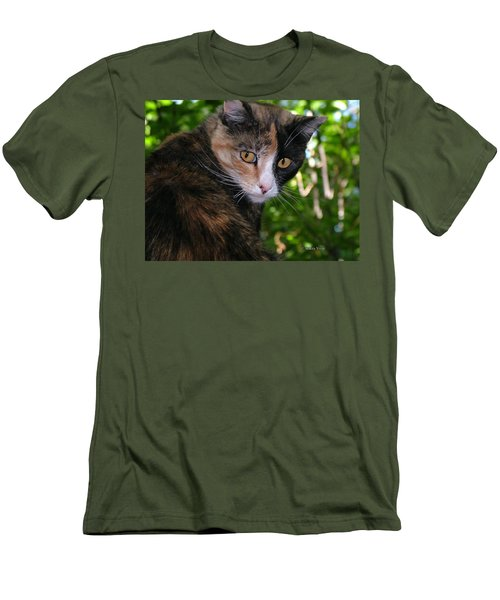 Tortie Men's T-Shirt (Athletic Fit)