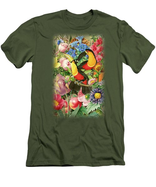 Toucans Men's T-Shirt (Athletic Fit)