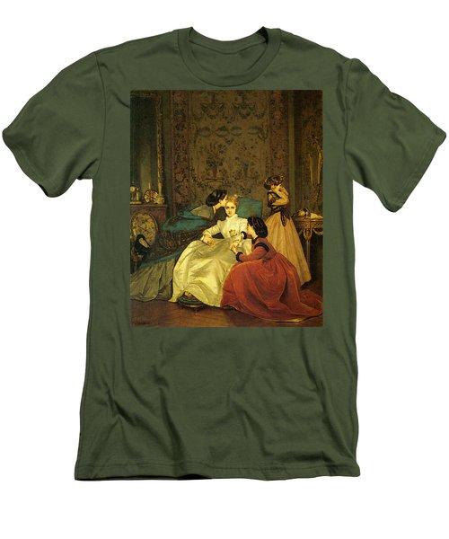 Toulmouche Auguste The Reluctant Bride Men's T-Shirt (Athletic Fit)