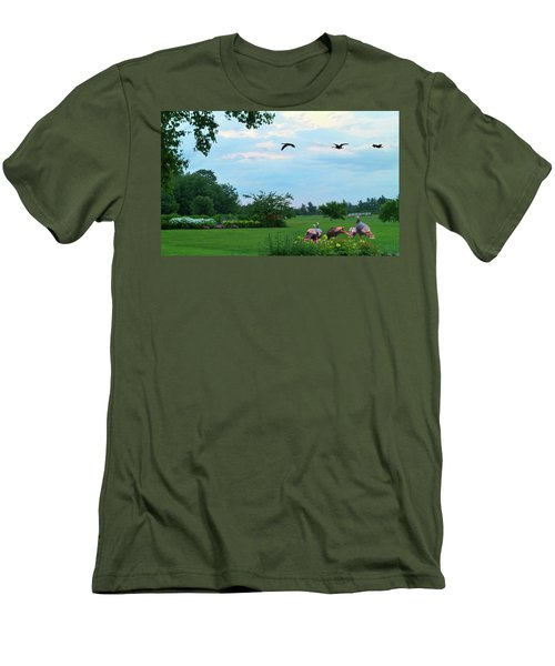 Touring New England Men's T-Shirt (Athletic Fit)