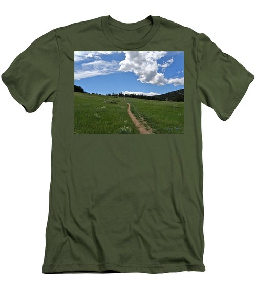 Towards The Sky Men's T-Shirt (Athletic Fit)