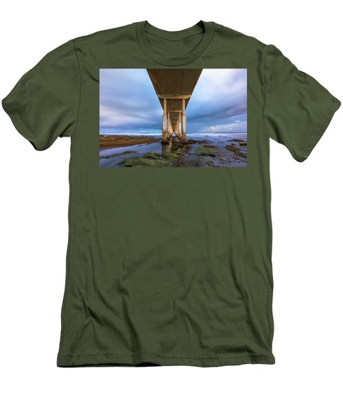 Towers Above Men's T-Shirt (Slim Fit) by Joseph S Giacalone