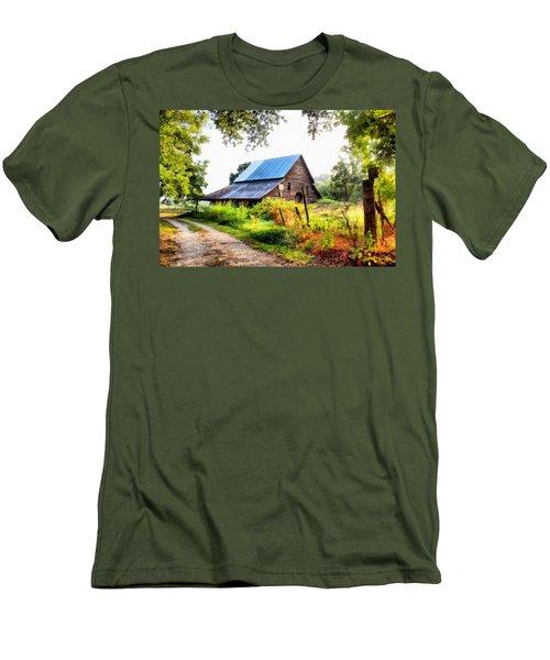 Townville Barn Men's T-Shirt (Athletic Fit)