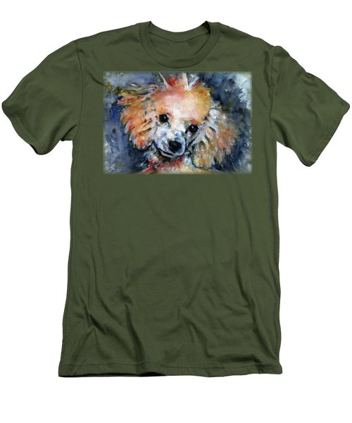 Toy Poodle Shirt Men's T-Shirt (Athletic Fit)