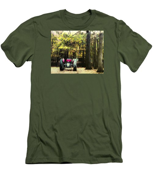 Tractor Men's T-Shirt (Athletic Fit)
