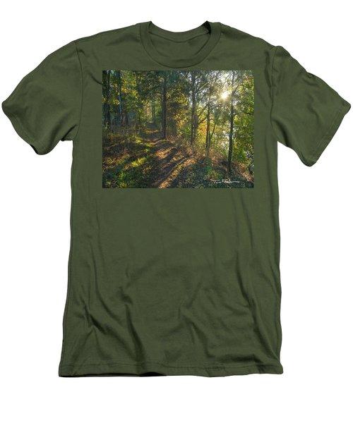 Trail Men's T-Shirt (Slim Fit) by Tim Fitzharris