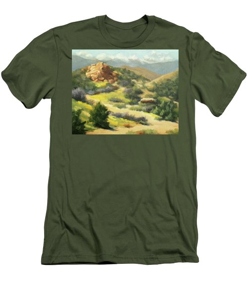 Trails Of Vasquez Canyon Men's T-Shirt (Athletic Fit)