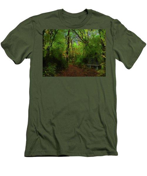 Trailside Bench Men's T-Shirt (Athletic Fit)