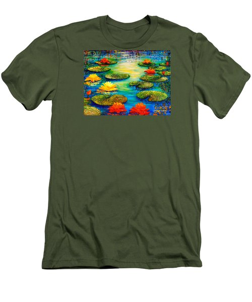 Tranquility 3 Men's T-Shirt (Athletic Fit)