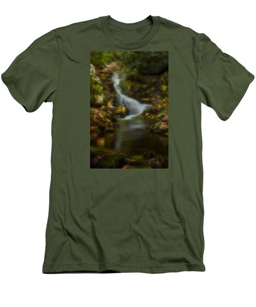 Men's T-Shirt (Slim Fit) featuring the photograph Tranquility by Ellen Heaverlo