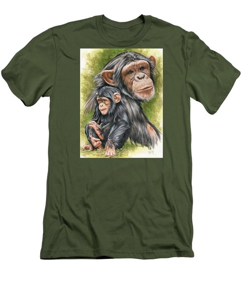 Men's T-Shirt (Slim Fit) featuring the mixed media Treasure by Barbara Keith