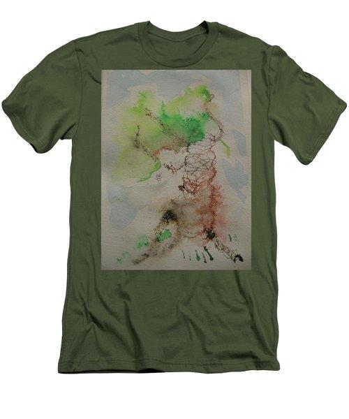 Tree Men's T-Shirt (Slim Fit) by AJ Brown