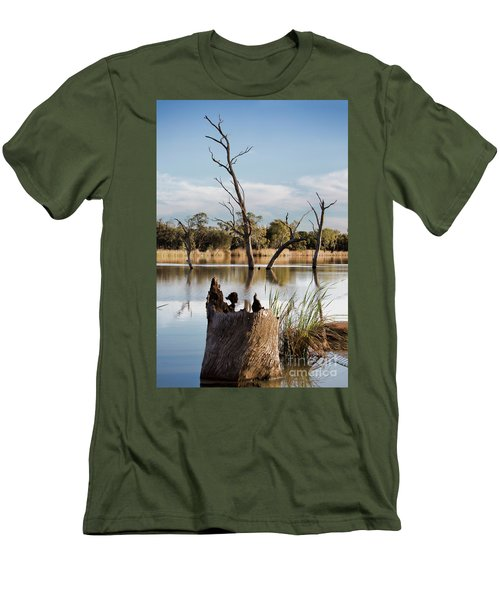 Tree Image Men's T-Shirt (Slim Fit) by Douglas Barnard