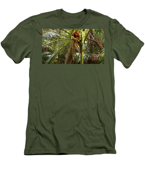 Tree Kangaroo 2 Men's T-Shirt (Athletic Fit)