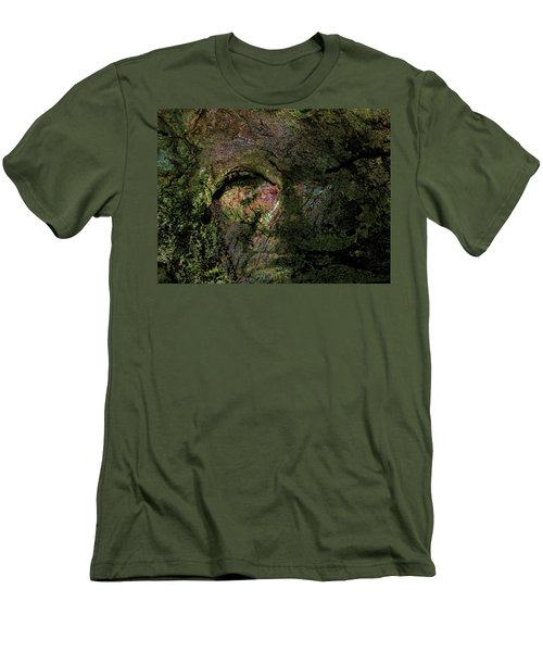 Men's T-Shirt (Slim Fit) featuring the photograph Tree Memories # 18 by Ed Hall