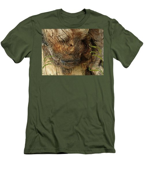 Men's T-Shirt (Slim Fit) featuring the photograph Tree Memories # 22 by Ed Hall