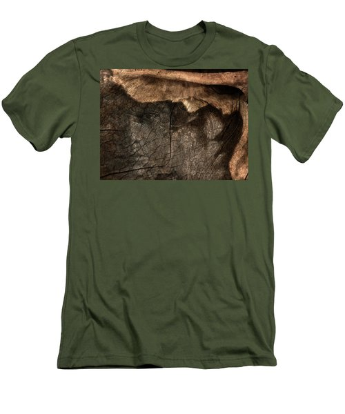 Men's T-Shirt (Slim Fit) featuring the photograph Tree Memories # 29 by Ed Hall