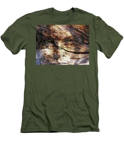 Men's T-Shirt (Slim Fit) featuring the photograph Tree Memories # 30 by Ed Hall