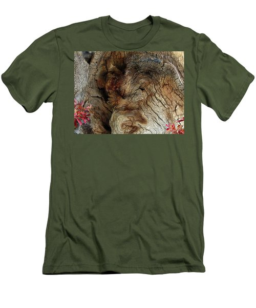 Men's T-Shirt (Slim Fit) featuring the photograph Tree Memories # 34 by Ed Hall