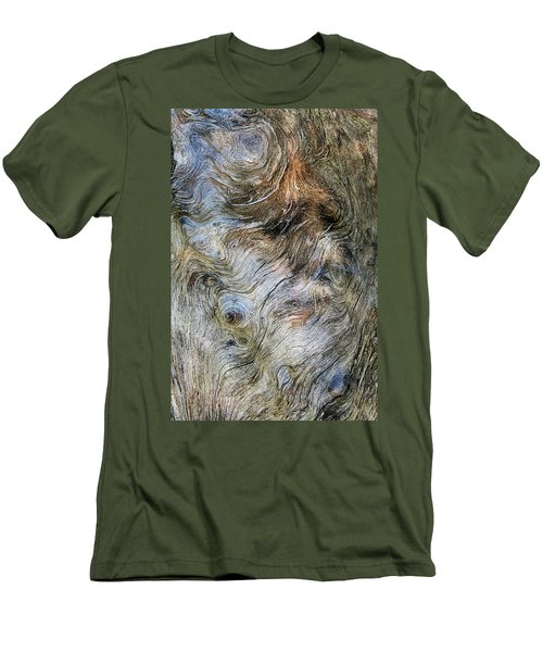 Men's T-Shirt (Slim Fit) featuring the photograph Tree Memories # 40 by Ed Hall
