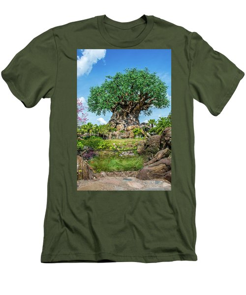 Tree Of Life Men's T-Shirt (Slim Fit) by Pamela Williams