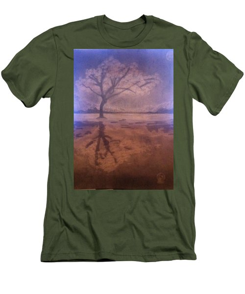 Tree Reflection  Men's T-Shirt (Athletic Fit)