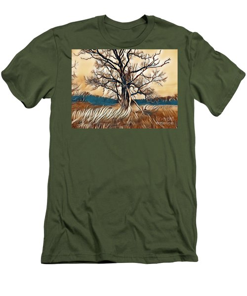 Tree1 Men's T-Shirt (Athletic Fit)