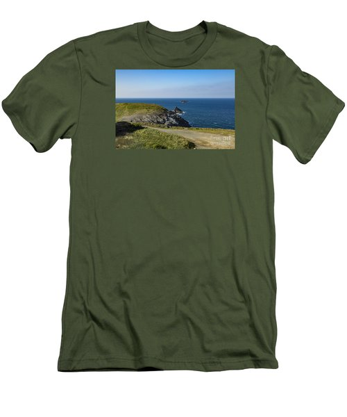 Trevose Headland Men's T-Shirt (Athletic Fit)